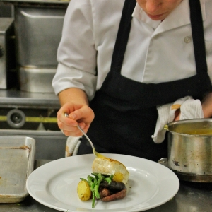 Chef Action - Plated Entree