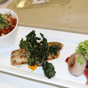Plated Entree Trio