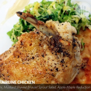 Pan Roasted Airline Chicken