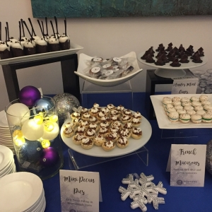 Holiday Dessert Station