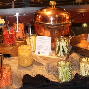 Displayed Hors D'oeuvre